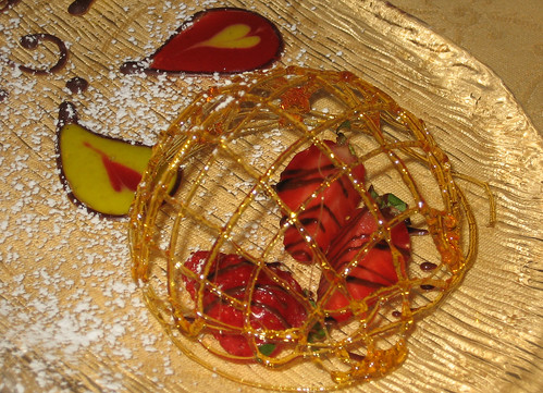 L'antico forziere - spun sugar cage
