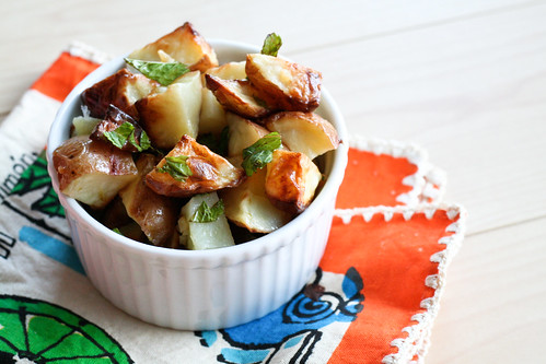 Mojito Roasted Potatoes