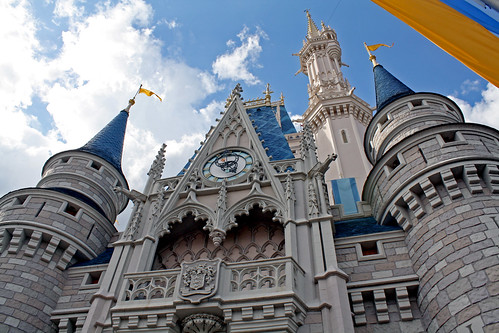 Disney World trip - day 8 - Magic Kingdom - Cinderella Castle