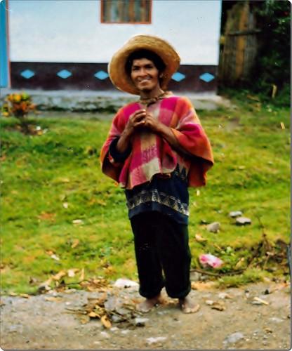 indigena paez Tierradentro Colombia