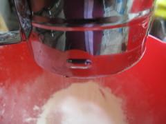 Sieve flour