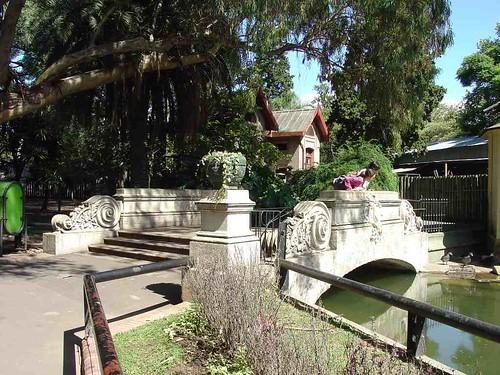Pont dans le zoo de Buenos Aires.