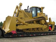 Cat on the move. (dbro1206) Tags: tracks equipment caterpillar arkansas blade bulldozer ripper d8t