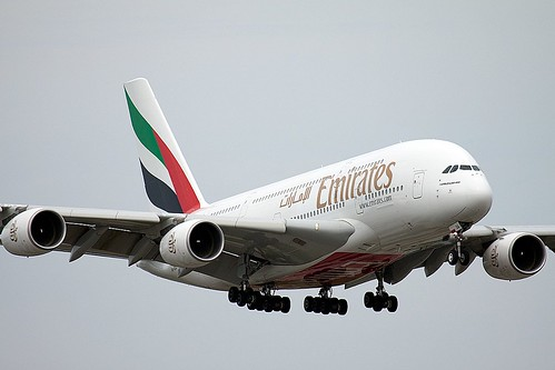 Emirates A380 (Sharpended) by Patcard, on Flickr