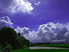 sunshine after the rain (digital boteman) Tags: vacation sunshine clouds san philippines olympus orion vicente ricefield 2009 sitio pinas bataan araro mywinners 1442mm e520 flickraward digitalboteman