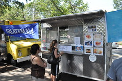 Food Trucks at Red Hook Park Brooklyn