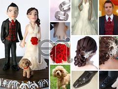 Pareja de Novios (Wedding Cake Toppers)