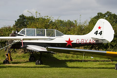 G-BXAK - 811508 - Private - Bacau Yak-52 - Little Gransden - 090830 - Steven Gray - IMG_0646