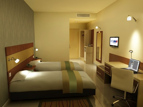 Citymax Hotels, Twin Bedroom