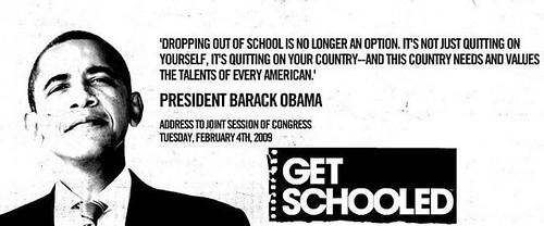 President Barack Obama and GetSchooled.com
