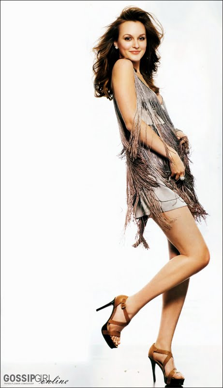 Leighton Meester – InStyle Hair Spring 2009 - beautiful girls