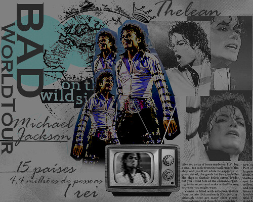 Bad World Tour - Michael Jackson by TheLean.