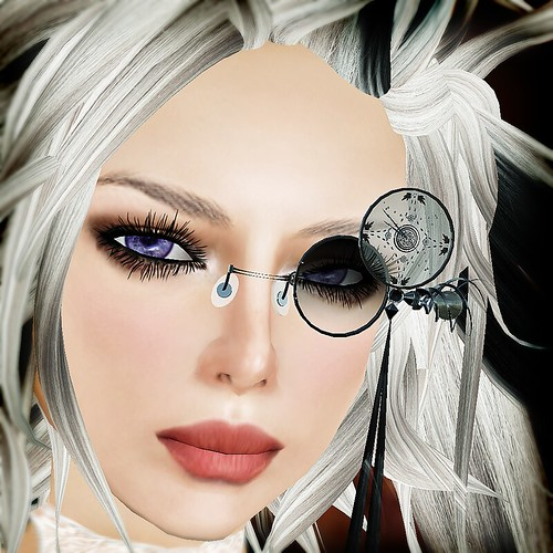 Aya portrait: =GC-Monokel(Dark-Knight clock)=