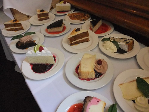 Desserts on the Sunday Brunch Buffet at the Worthington Inn