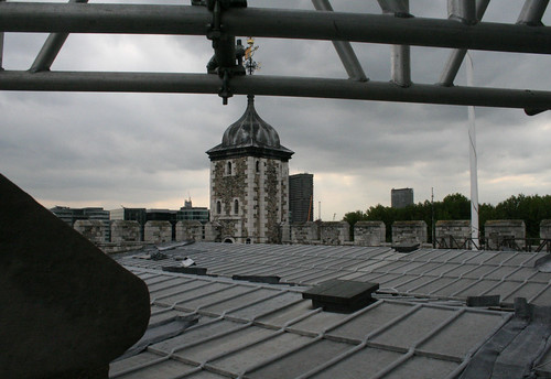 The roof of the White Tower - 1
