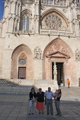 Visiting Burgos Cathedral
