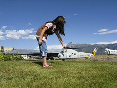 Ah it's so little! (sumoetx) Tags: canon airplane utah funny rc forcedperspective utahphotographer powershota720is weekendassignmentandcontest sumoetx