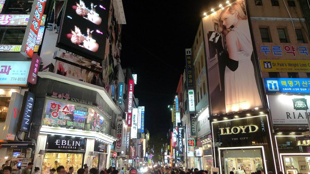 Main Street Myeongdong