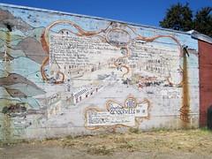 Old mural of Geyserville (ccalcaterra) Tags: california rodeobeach geyserville
