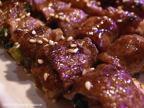 阿鴻碳烤_豬肉串
