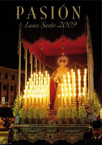 Cartel Lunes Santo 2009 Hermandad de Pasión