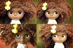 Cocoa Cherry 1 of 3 (Shannon_Taylor) Tags: black doll wig blythe custom