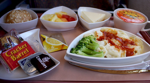 Emirates Airline Meal - Sydney to Christchurch