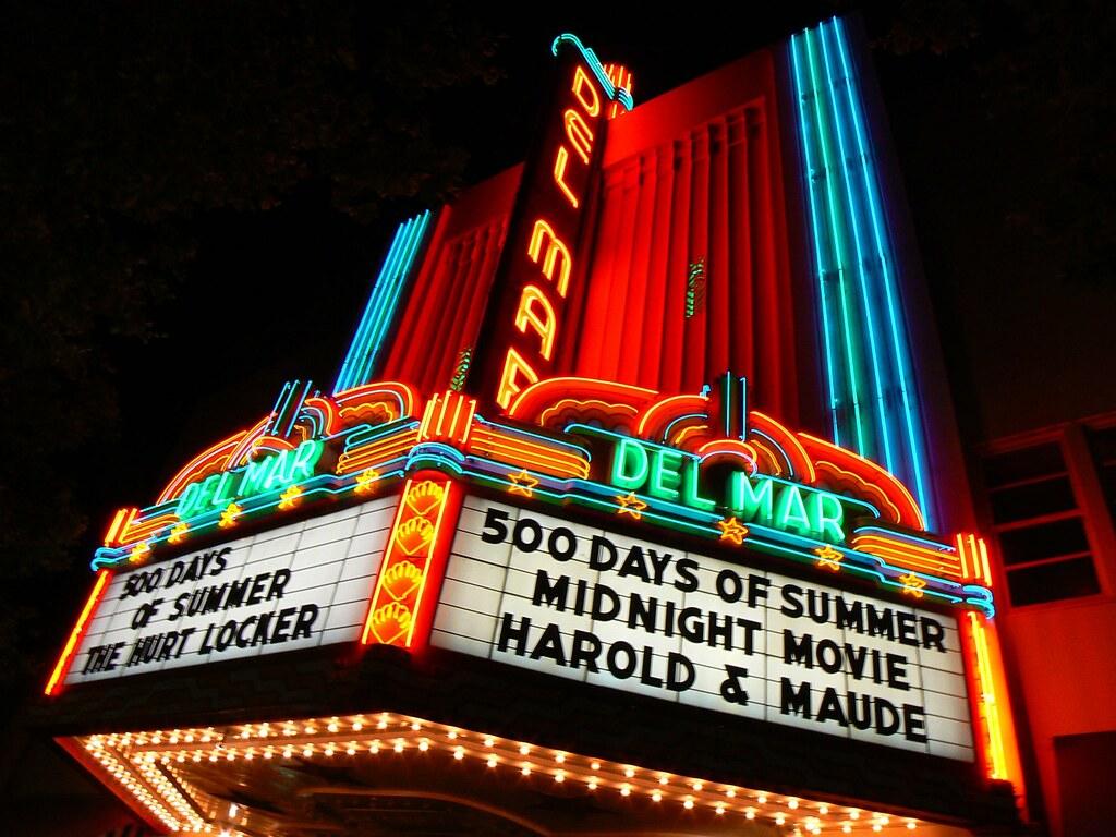 Del Mar Theatre, Santa Cruz CA
