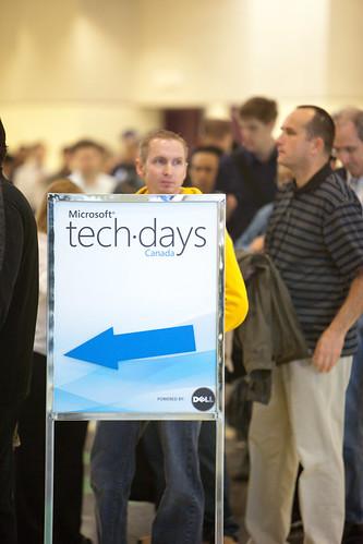 Microsoft Techdays 2009 - Toronto by kk+.