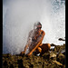 Ivana and the blowhole, Cozumel