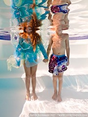 two (david_CD) Tags: pool swim children hands funny underwater dive siblings together holdinghands losangles lightroom lightonkids pixel2canvas