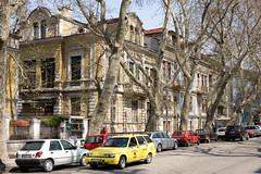 Ivan Vazov street (Jeroen Kransen) Tags: geotagged 50mm bulgaria f11 plovdiv canonef50mmf14usm bulgarije canoneos5d 180s