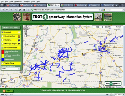 Screenshot-TDOT Smartmap - Opera