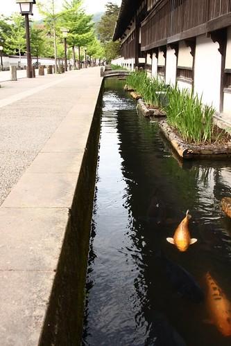 Tsuwano's main street