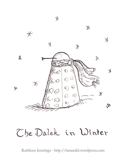 The Dalek in Winter