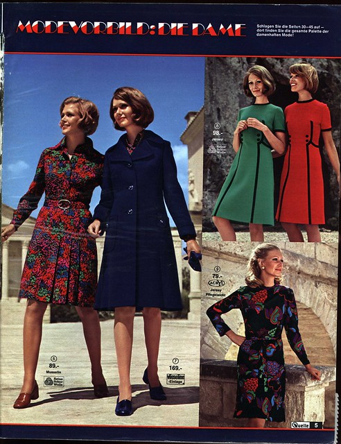 1972 Quelle 5 Damenmode