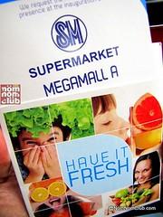 SM Supermarket Invitation