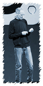 Steve Jobs put in an appearance at WWDC 2011 to unveil iCloud