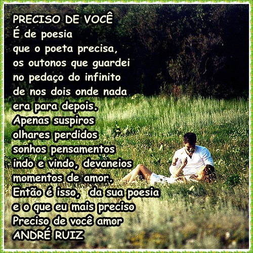 PRECISO DE VOCE by amigos do poeta