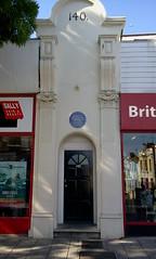 Photo of Edward Codrington blue plaque