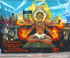 MEAR Mural (with James Allen quote) (irunitall) Tags: street art painting one graffiti los mural angeles graf graff cbs mear