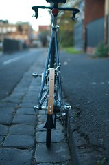 Dahon Hammerhead 7.0 with Paul Sykes Wooden Mudguards