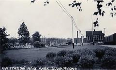 Sudbury - CPR Station and Park C194x (363FroodRd / 573PineSt) Tags: sudbury sudburyon