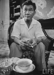 Ngo Dinh Nhu, Advisor and brother to Pres. Diem, 9-1963 2 par VIETNAM History in Pictures (1962-1963)
