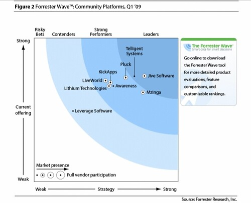 Forrester Wave™: Community Platforms, Q1 '09