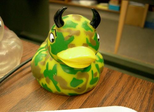 Camo Devil Ducky