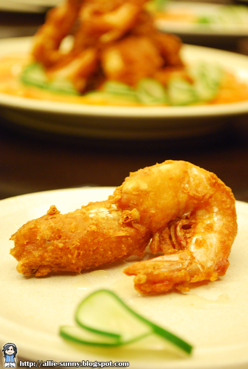 Fried Prawn and Garlic 2