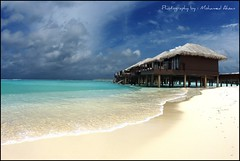 (Sh@mpoo) Tags: sea holiday beach clouds relax island sony resort shampoo enjoy villa maldives ahsan a700 alpha700 shmpoo mohamedahsan