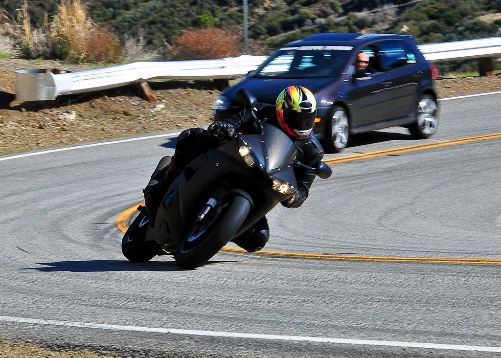 Chasing Sportbikes on The Snake