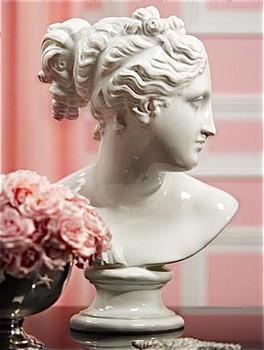 pieces Vellum_Delphi_Shiny_White_Venus_Bust